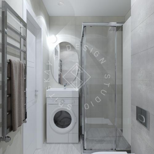 Дизайн однокомнатной квартиры в г. Грузия - 12