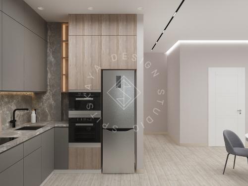 Дизайн интерьера квартиры в ЖК Грани - 12