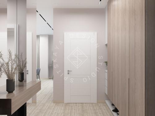 Дизайн интерьера квартиры в ЖК Грани - 4