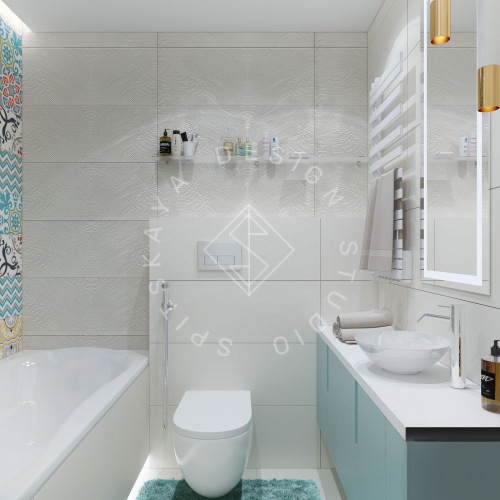 Дизайн проект небольшой квартиры - 23