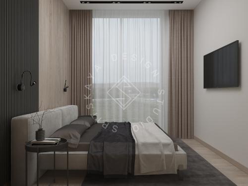 Дизайн интерьера квартиры в ЖК Грани - 21