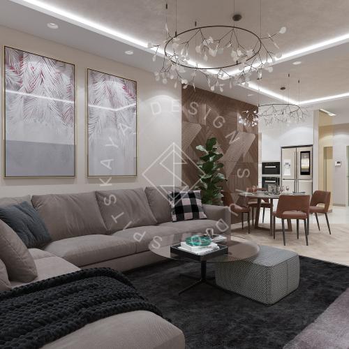 Дизайн квартиры 120 м2 - 8