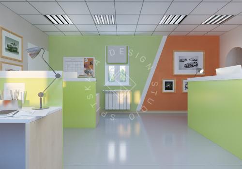 Дизайн офиса компании Восток газ г. Днепр - 7