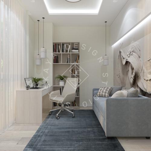Дизайн квартиры в ЖК Панорама г. Днепр 2019г - 16