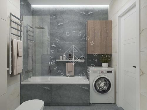 Дизайн квартиры в ЖК Счастливый - 25
