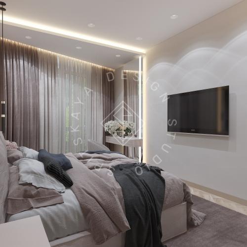 Дизайн квартиры 120 м2 - 31