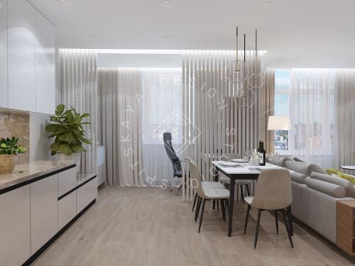 Дизайн квартиры в ЖК Галлактика г. Киев - 2