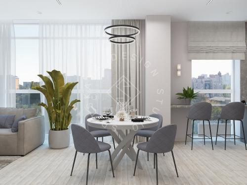 Дизайн интерьера квартиры в ЖК Грани - 8