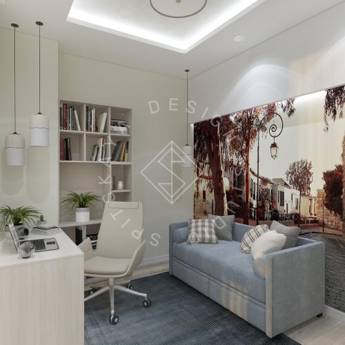 Дизайн квартиры в ЖК Панорама г. Днепр 2019г - 18