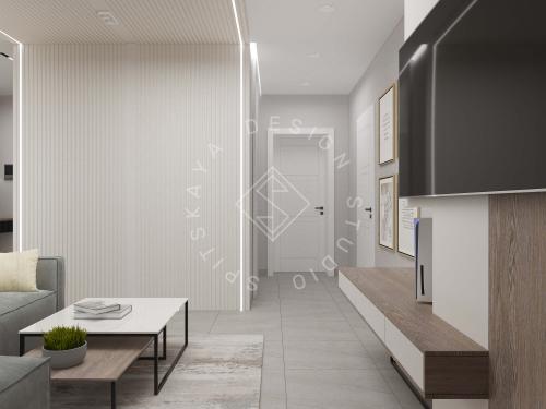 Дизайн квартиры в ЖК Счастливый - 3