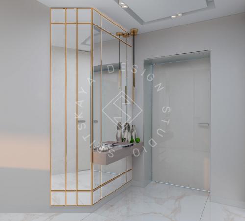 """Дизайн квартиры-студии в ЖК """"Bartolomeo Resort Town"""" г. Днепр - 3"""