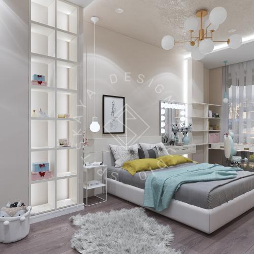 Дизайн интерьера квартиры в ЖК Comfort City Lux - 42