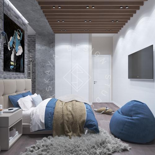 Дизайн интерьера квартиры в ЖК Comfort City Lux - 25