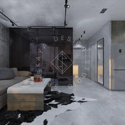 """Дизайн интерьера квартиры в стиле """"LOFT"""" ЖК """"RIVER PARK"""" - 15"""