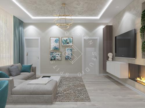 Дизайн квартиры в ЖК Панорама г. Днепр 2019г - 7