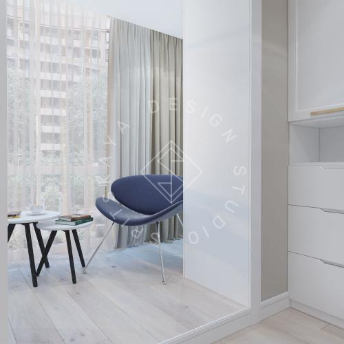 Дизайн проект небольшой квартиры - 9