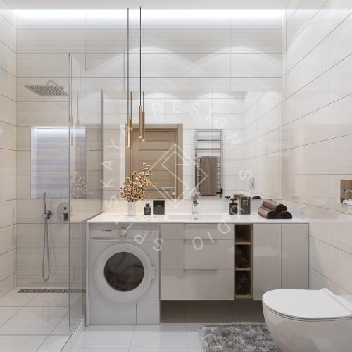 Дизайн интерьера квартиры под сдачу - 11