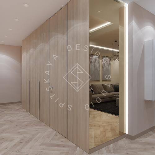 Дизайн квартиры 120 м2 - 11