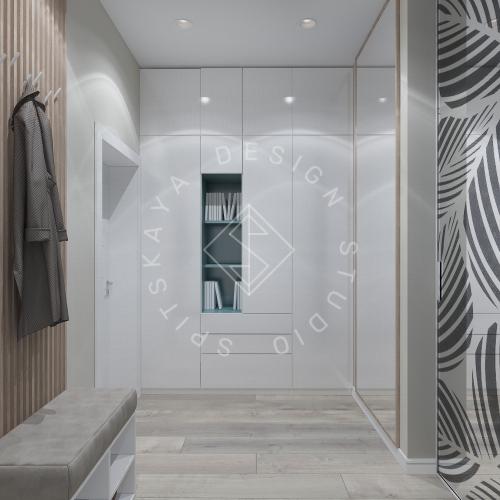 Дизайн квартиры в ЖК Панорама г. Днепр 2019г - 11