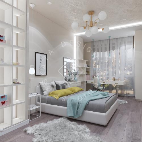 Дизайн интерьера квартиры в ЖК Comfort City Lux - 45