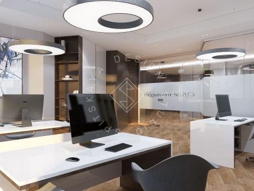 """Дизайн офиса в ЖК """" Бартоломео"""" - 54"""