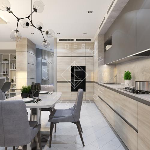 Дизайн интерьера квартиры в ЖК Чкаловский - 6