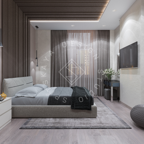 Дизайн интерьера квартиры в ЖК Comfort City Lux - 17