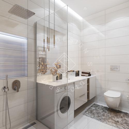 Дизайн интерьера квартиры под сдачу - 9