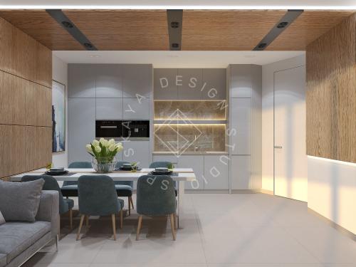 """Дизайн офиса в ЖК """" Бартоломео"""" - 37"""