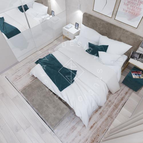 Дизайн проект небольшой квартиры - 16