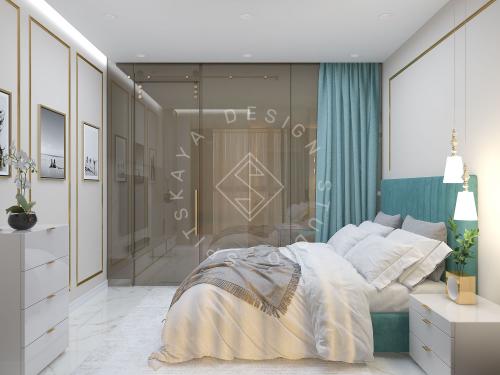 """Дизайн квартиры в ЖК """"Ривер Парк"""" 2 - 10"""