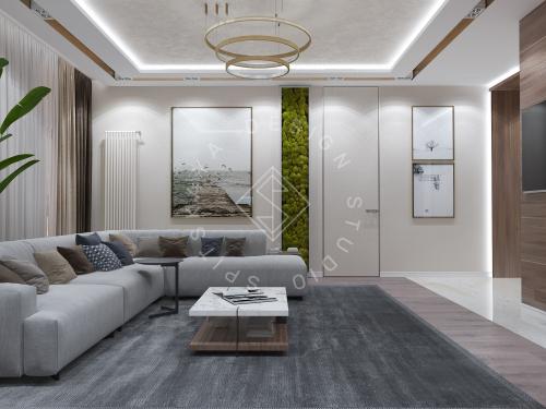 Дизайн интерьера квартиры в ЖК Comfort City Lux - 10